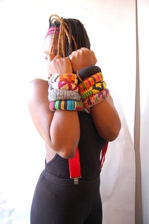 black naKiMuli bracelet - orange naKiMuli bracelet - yellow naKiMuli bracelet -
