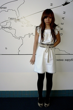 APC dress - vintage Steve Madden shoes - laueliza  belt