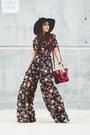 Black-h-m-hat-brick-red-danielle-nicole-bag-black-shoppiin-jumper