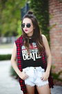 Black-forever-21-sunglasses-brick-red-forever-21-vest-black-forever-21-top
