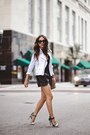 Black-dolce-vita-shoes-white-rebecca-minkoff-jacket