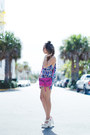 Hot-pink-botkier-bag-blue-zerouv-sunglasses-deep-purple-6-shore-road-romper