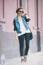 Sky-blue-lamour-nanette-lepore-jacket-black-lamour-nanette-lepore-leggings