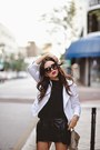 Black-dolce-vita-shoes-white-rebecca-minkoff-jacket