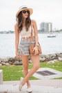 Ivory-crochet-ocean-minded-shoes-cream-2020ave-shirt-black-shoppiin-shorts