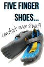 sky blue Vibram shoes