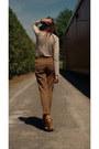 Zara-shirt-zara-pants-sirens-heels