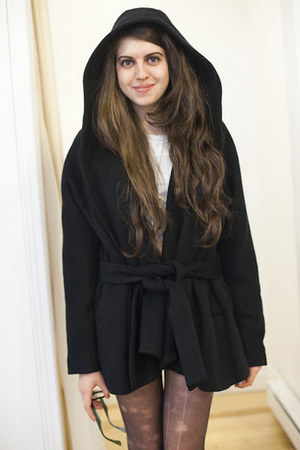black Very Studio coat