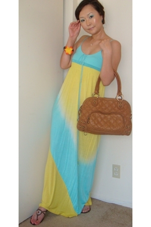 Armani Exchange dress - linea pelle purse - Nine West shoes