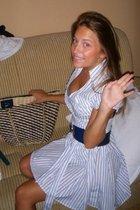 Kikiriki dress - Bershka belt - Topshop purse