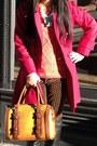 Zebra-anna-dello-russo-x-h-m-bracelet-fur-vintage-hat-coral-h-m-sweater