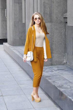 f21 shoes - Zara jacket