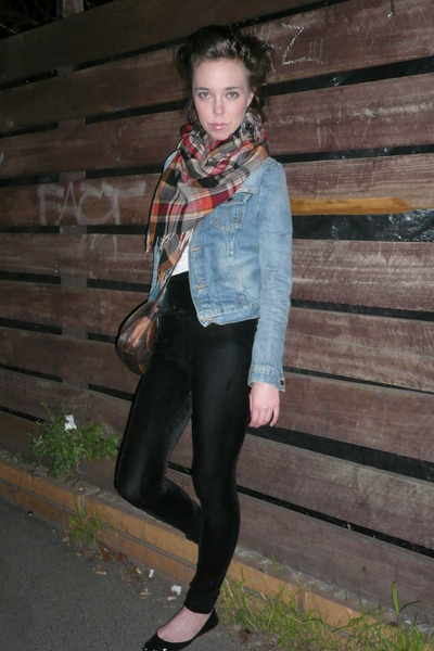 jacket - leggings - scarf