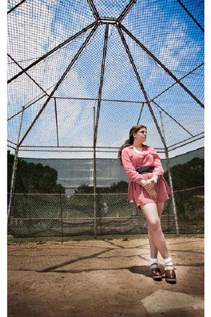 Charlotte Russe cardigan - Colin Stuart shoes - Vintage store shorts - Charlotte