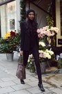 Black-ankle-boots-boots-dark-brown-zara-jacket-louis-vuitton-bag