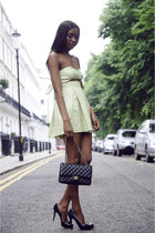 Chanel bag - asos dress - Christian Louboutin heels