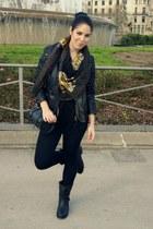 Lefties boots - Zara scarf