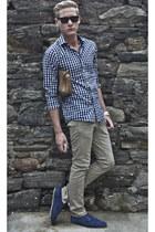 coach bag - Zara shoes - H&M shirt - H&M pants