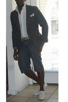 Brooks Brothers shirt - blazer - supra shoes