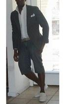 Brooks Brothers shirt - blazer - supra shoes