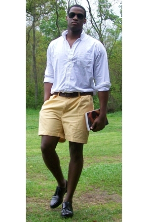 Brooks Brothers shirt - Polo Chinos shorts - Polo belt - Cole Haan shoes - Ray B