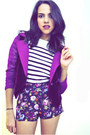 Black-aldo-boots-magenta-beacons-closet-jacket-navy-forever-21-shorts-oysh