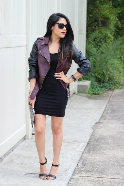 H&M jacket - H&M dress - Charlotte Russe sunglasses - Charlotte Russe heels