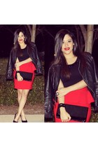 Forever21 skirt - H&M jacket - Forever21 top