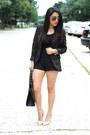 Leopard-h-m-blazer-oasap-bag-h-m-shorts-forever21-heels