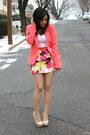 Forever21-blazer-forever21-skirt-steve-madden-heels