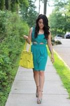 cut out Love Shopping Miami dress - Olivia  Joy bag
