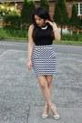 Crop-top-furor-moda-top-chevron-print-charlotte-russe-skirt