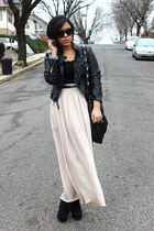 Steve Madden boots - H&M jacket - cotton on skirt