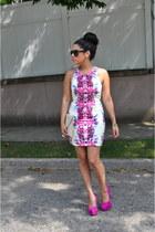 OASAP dress - asos bag - Jessica Simpson heels