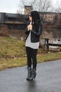 Studded-forever-21-boots-beanie-h-m-hat-faux-leather-charlotte-russe-jacket