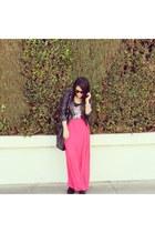 furor moda skirt - Steve Madden boots - H&M jacket - H&M top
