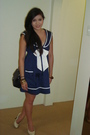 Blue-ebay-dress-black-chanel-lambskin-255-purse-beige-tony-bianco-shoes-go