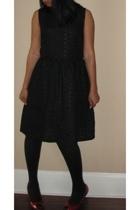 DIY dress - Target tights - go jane shoes