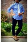 White-skinny-jeans-forever-21-jeans-gingham-old-navy-shirt