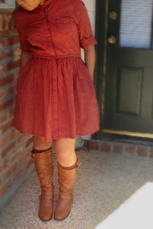tawny cotton Levis dress
