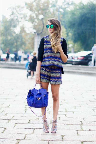 amethyst PROENZA SCHOULER bag - purple ALBINO dress