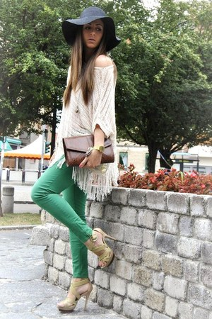 chartreuse Zara pants