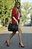 VINTAGE NEW YORK blazer - MISS SICILY dolce & gabbana bag