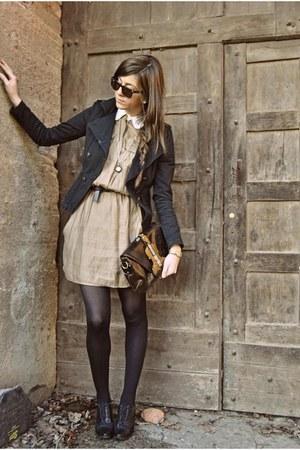violin bag Bag bag - prima donna Shoes boots - zara Dress dress