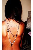silver Chanel accessories