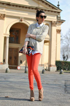 Jeffrey Campbell shoes - Zara jeans - Zara sweater
