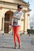 Jeffrey Campbell shoes - Zara jeans - Zara sweater