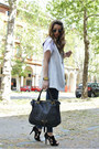 Black-tosca-shoes-heather-gray-gianfranco-ferre-jacket-black-chloe-bag