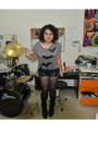 Heather-gray-boots-black-roxy-jeans-heather-gray-new-look-shirt