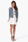 Denim-jacket-necessary-clothing-jacket-skater-skirt-necessary-clothing-skirt